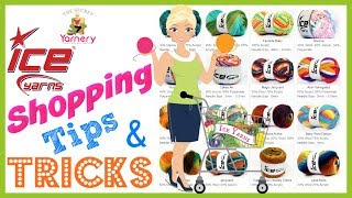Online Yarn Shopping Tips & Tricks - How to Find What You are Looking for at Ice Yarns!