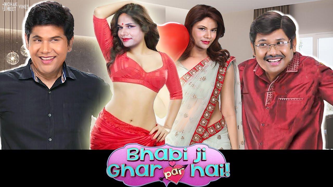 BHABI JI GHAR PAR HAI SPOOF   FAMILY COMEDY   #Funny #Bloopers    MOHAK MEET VINES