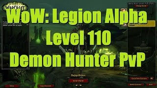 WoW: Legion (Alpha) - Level 110 Demon Hunter WSG Wreckage - WoW Legion PvP