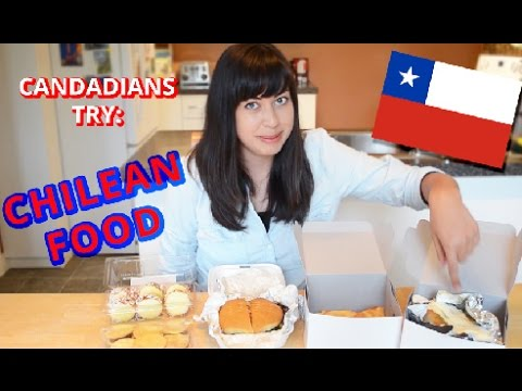 Canadians Try: Chilean Food (Full Version)