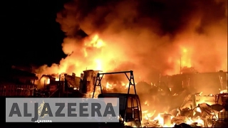 Philippines: Shanty town fire leaves thousands homeless