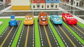 Arabalar. Renkli arabalar İngilizce  ألعاب سيارات