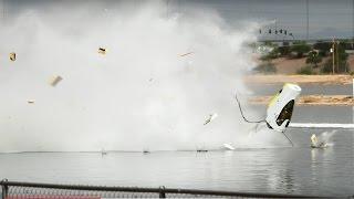 EPIC DRAG BOAT CRASH AT THE 2014 LUCAS OIL DRAG BOATS WORLD FINALS