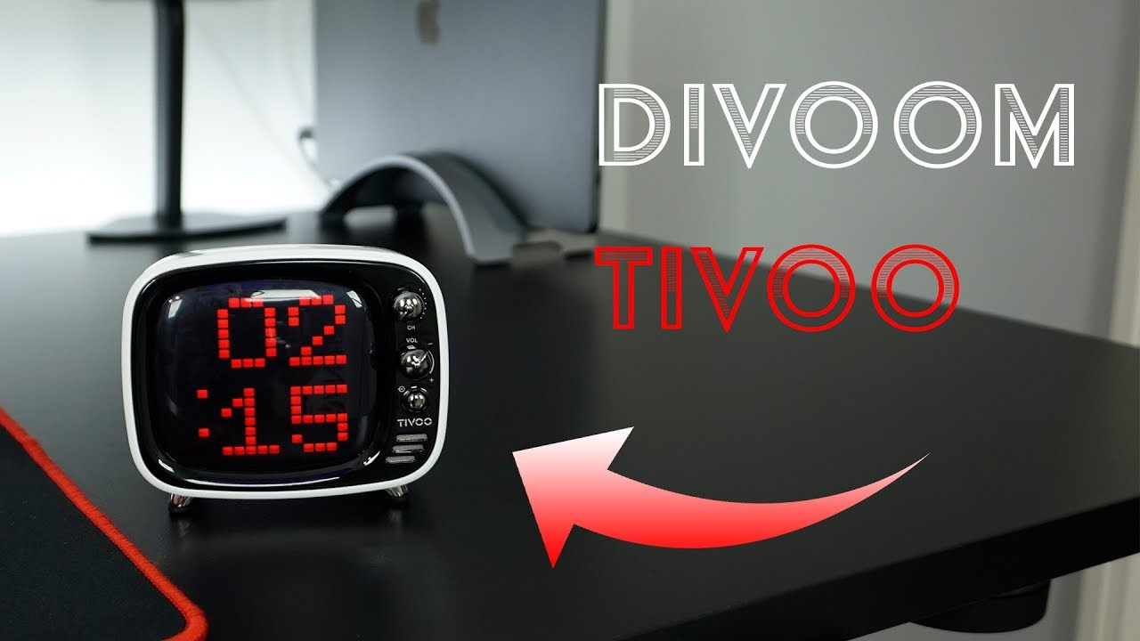 BEST Alarm Clock / Speaker?? Divoom Tivoo Review!