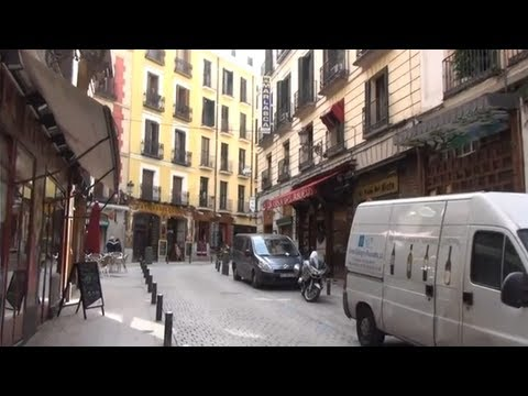 (3D) Walking through Madrid Full HD 1080i (Sony HDR-TD20V similar to HDR-TD30V)