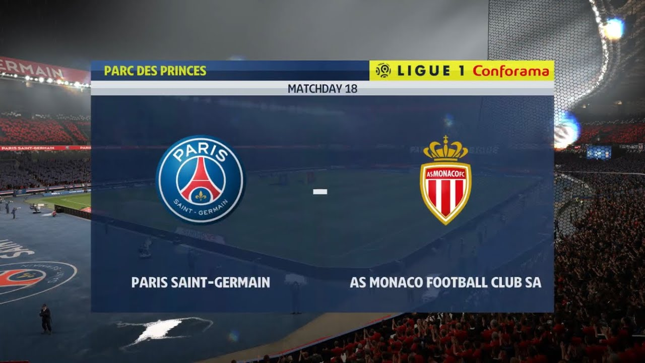 FIFA 20 | PARIS SAINT-GERMAIN vs MONACO | LIGUE 1 PS4