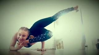 It was fun today to try new things after contortion class