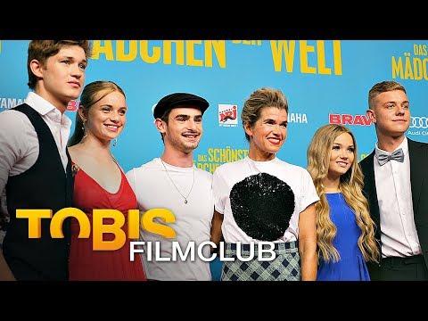 DAS SCHÖNSTE MÄDCHEN DER WELT Filmpremiere   #TobisFilmclub mit Robert