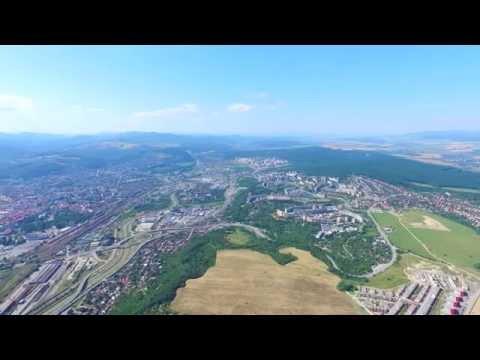 DJI Phantom 3 Pro 500 meters flight altitude  Košice - Heringeš