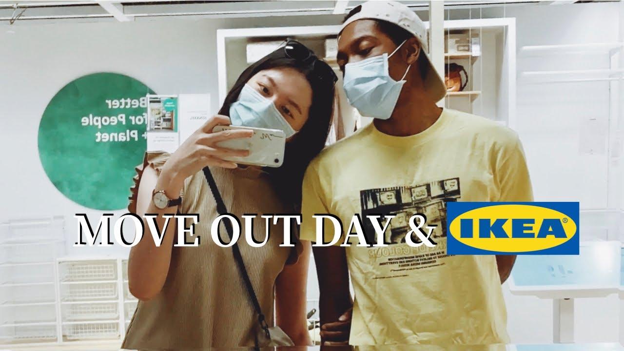 Check Out Quarantine Room + IKEA Shopping & Return Blasian Couple sometimes with Keys