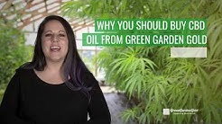 Reasons To Buy CBD Oil From Green Garden Gold