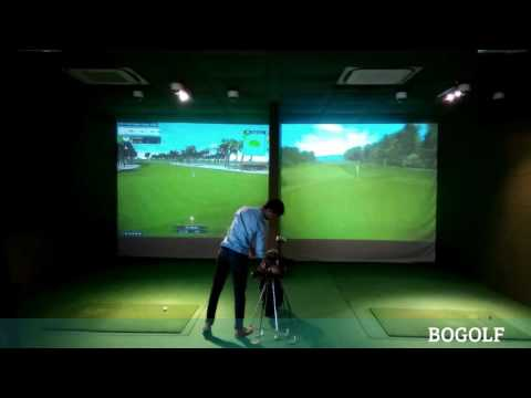Golf Simulator in Sports Club - India