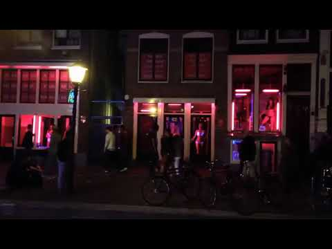Amsterdam Red Light District Famous Tourist Attraction
