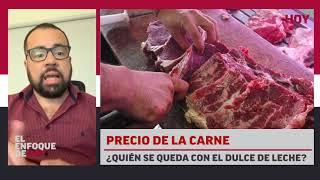 Precio de la carne: ¿Quién se queda con el dulce de leche?