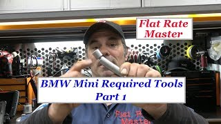 BMW Mini Required Tools Part 1