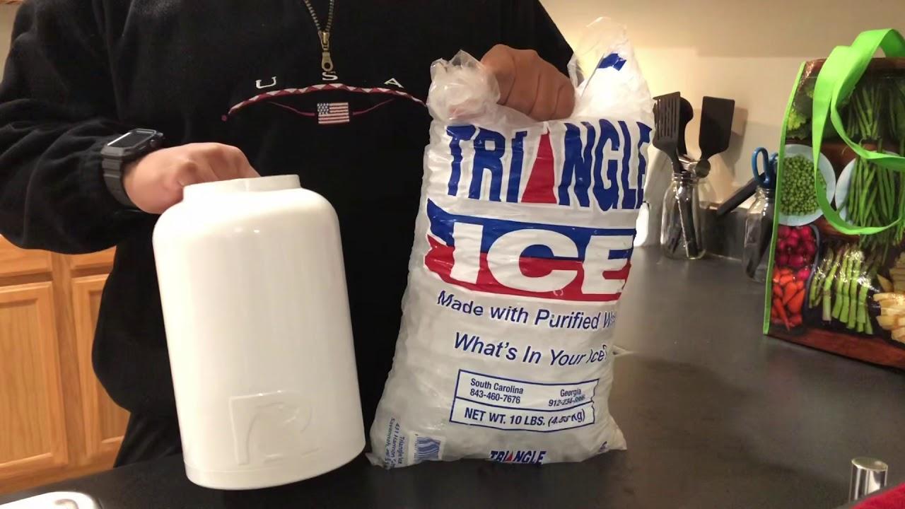 RTIC Gallon Jug Ice Test