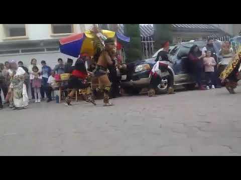 Danza Azteca honor Santa Inés en Tlaxcala 2020  2/3