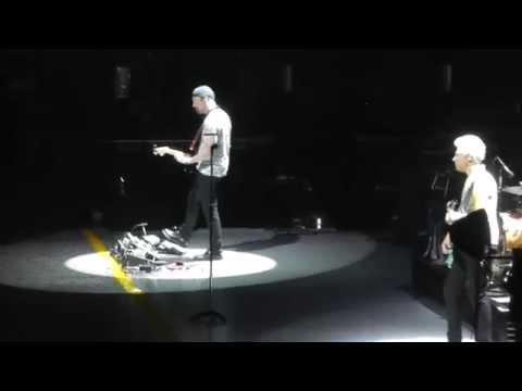 U2 July 11, 2015 17: Bad (Live Aid 30th Anniv. reference) - TD Garden, Boston, MA