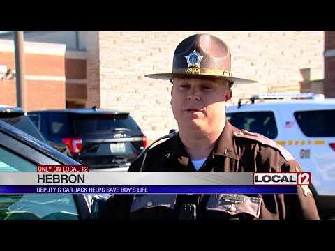 Boone Co. Deputy's car jack helps save boy's life