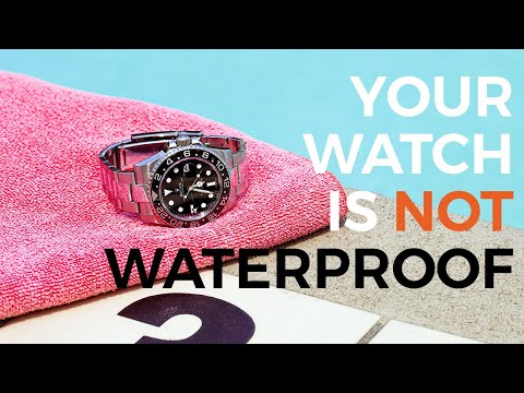 What You Should Know About Water Resistance In Watches