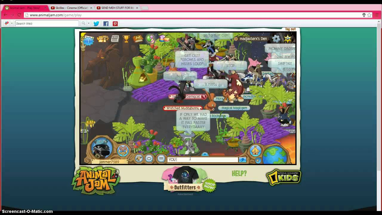 ANIMALJAM WARRIOR CAT FIGHT