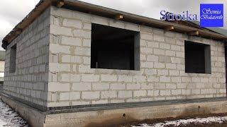 Строим дом своими руками. Консервация стройки на зиму. Строительство дома из газобетона.(Консервация стройки на зиму. Строительство дома из газобетона., 2016-10-14T07:47:40.000Z)