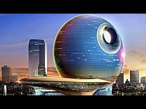 Skyscrapers to Rise Over Baku, Azerbaijan Skyline: Death Star Hotel e Moon Rising Hotel