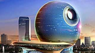 Skyscrapers to Rise Over Baku, Azerbaijan Skyline: Death Star Hotel e Moon Rising Hotel
