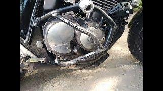 Нужны ли дуги на мотоцикле? О том как я попал в ДТП