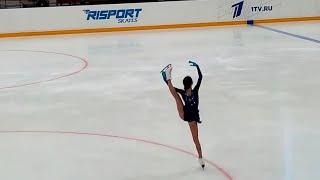Анна Щербакова в Сызрани Короткая программа Кубок России 2020