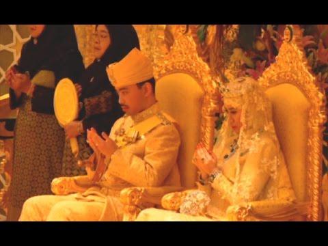 สรุปภาพรวมพระราชพิธีเสกสมรสเจ้าชายแห่งบรูไน - Springnews