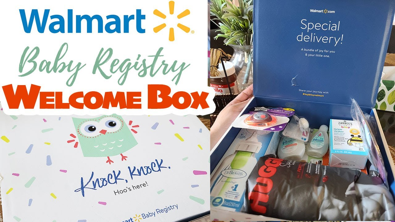 WALMART Baby Registry FREE WELCOME BOX MAY 2020 | FREE ...