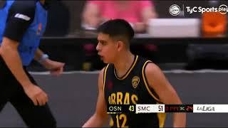 #LNB - F4 Súper 20 - Obras Basket 57-57 San Martín (25/2/2021)