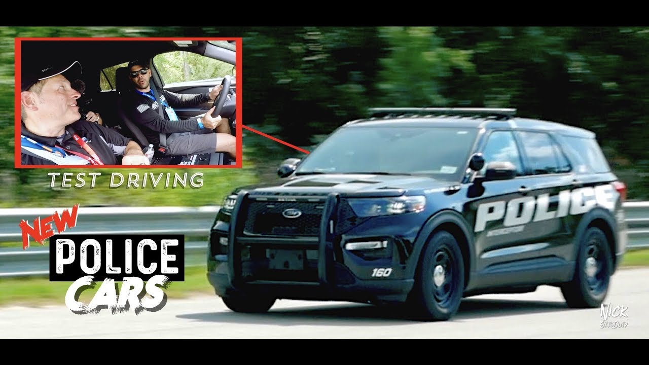 Test Driving NEW POLICE CARS