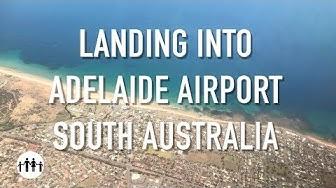 FLYING - Landing Into Adelaide International Airport (South Australia) on QANTAS