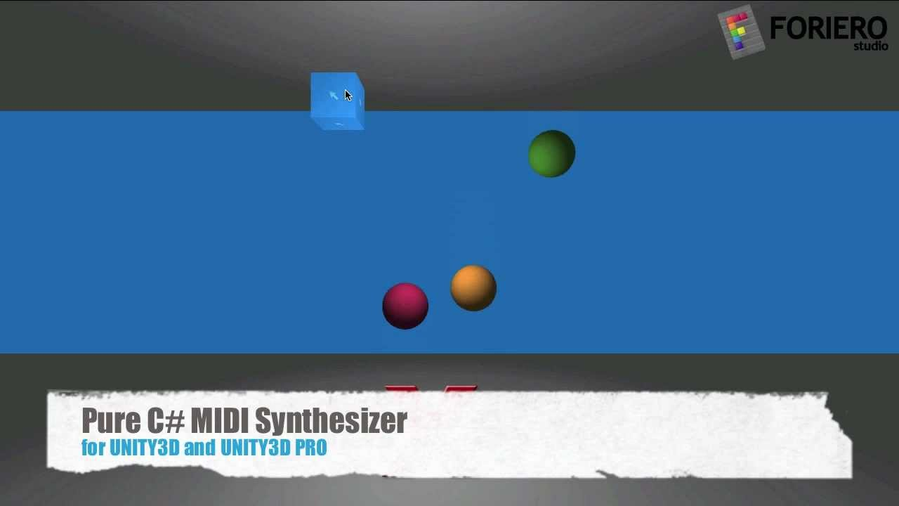 MIDI Synth - Pure Unity3D C# MIDI Synthesizer