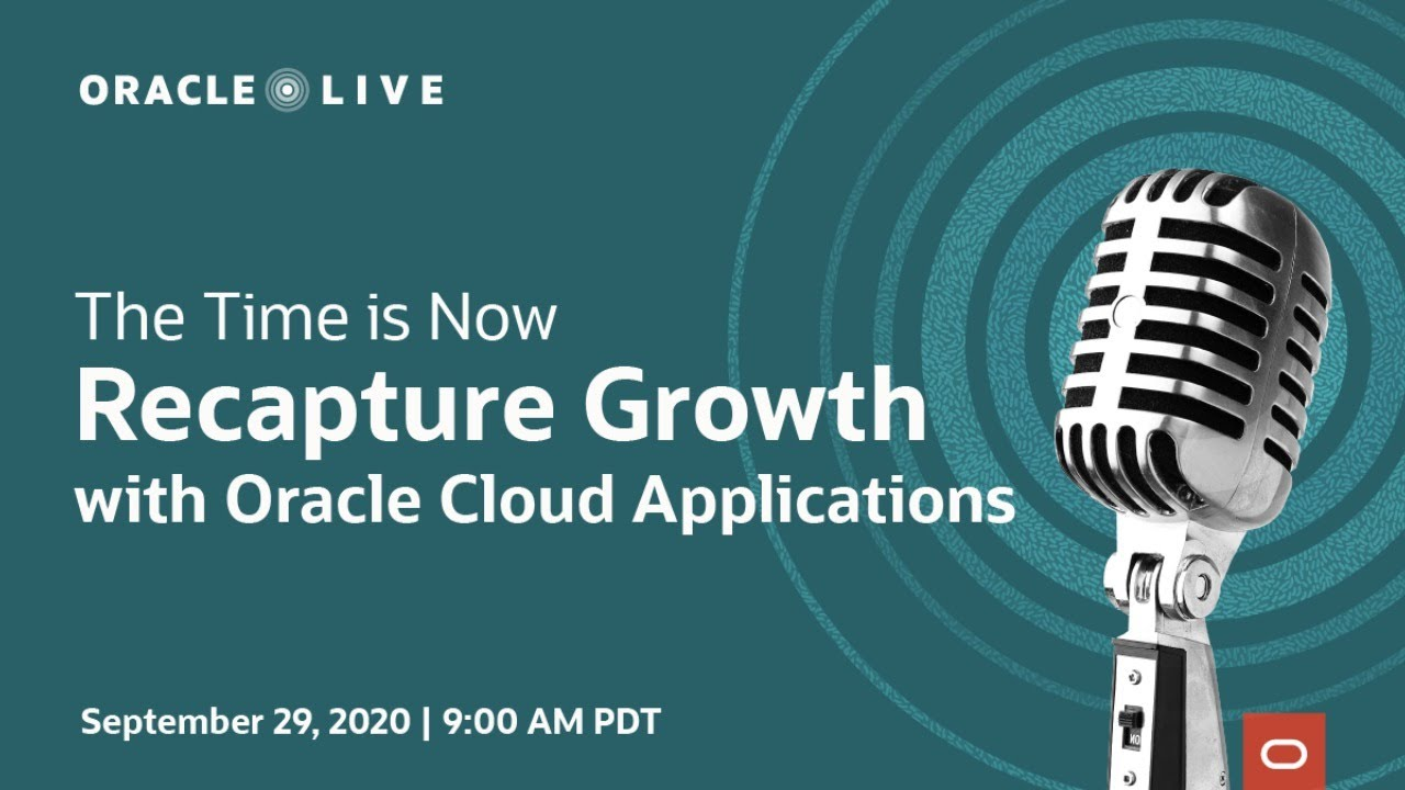 Oracle Live: The Time is Now