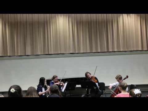 ICR Wings Quartet: Quartet in D major, K. 285, Allegro. W. A. Mozart