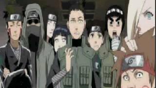 Sakura Slaps Sai & Naruto