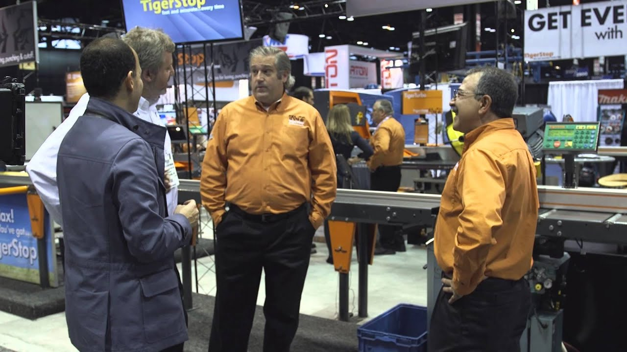 The Profit with Vision Quest Lighting visits TigerStop ...