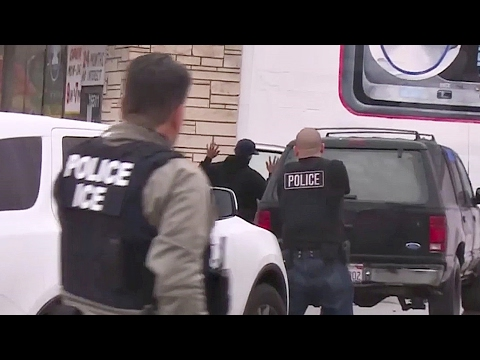 ICE Immigration Enforcement Raids – LA, Chicago