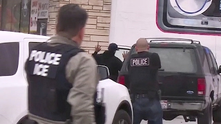 ICE Immigration Enforcement Raids – LA, Chicago