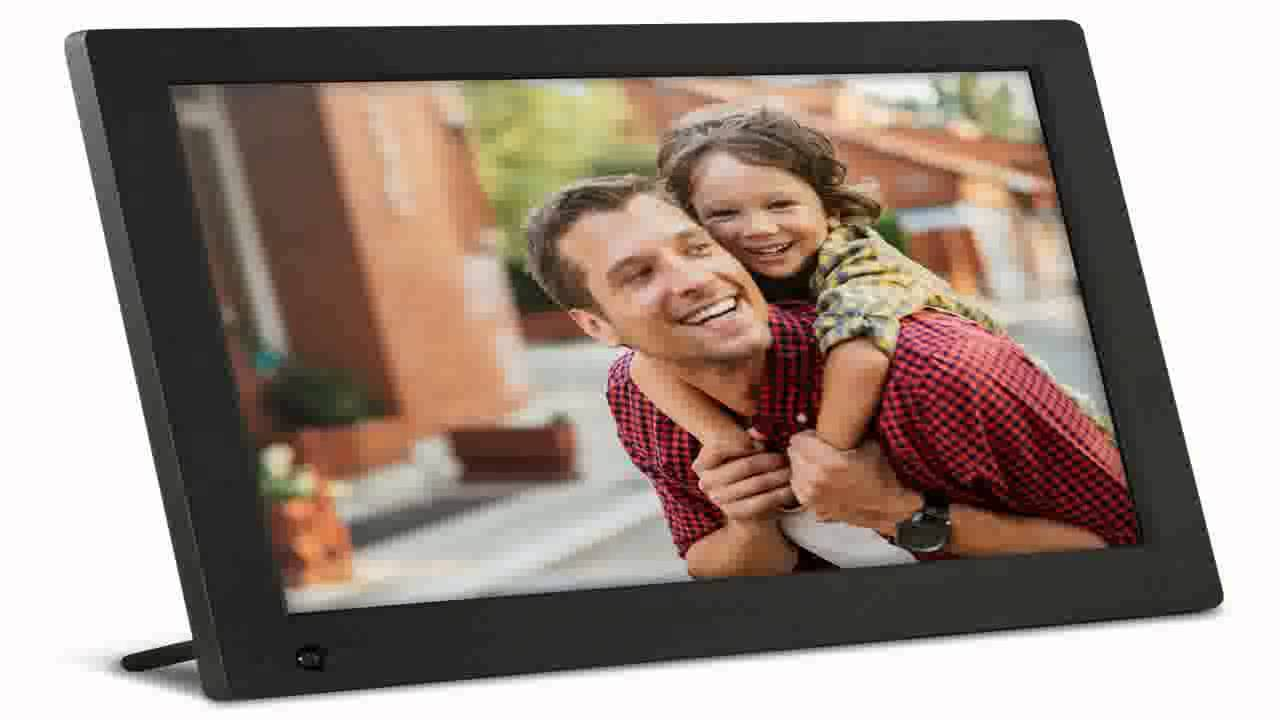 Aluratek 15 Inch Hi Res Digital Photo Frame With 2gb Internal Memory