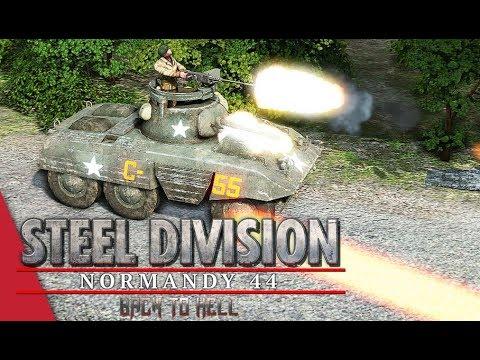 3rd APT Semi Final! Steel Division: Normandy 44 - YueJin vs Corbeau (Odon - River, 1v1)
