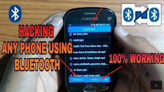 Hacking Phone With Bluetooth