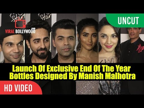 UNCUT - Launch Of Exclusive End Of The Year Bottles Designed By Manish Malhotra | Chandon