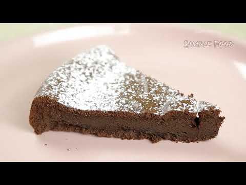 Десерт Всего из ДВУХ ингредиентов! Шоколадный ПИРОГ! Так ПРОСТО и ВКУСНО / Chocolate Cake