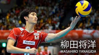 TOP 10 Powerful Volleyball Spikes by Masahiro Yanagida (柳田将洋) World Grand Champions Cup 2017