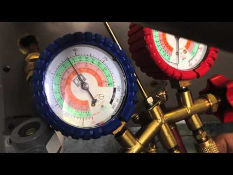 Hvac Training Hooking Up Refrigerant Gauges Doovi