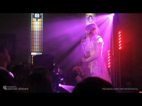 Florence + The Machine  Cosmic Love  MySpace Secret Show
